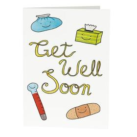 Warm wishes and a speedy recivery to dear mommy! Funny card for mother. Get better soon, please. This card with thermometer and napkins for you, mommy! Free Download 2019 greeting card