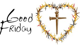 Good friday 2018. The crown of thorns. Heart. Send your best messages to your family and friends on Good Friday. Good Friday 2018 eCard Free Download. Free Download 2021 greeting card