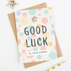 Good Luck in your exams! Handmade. Photo. Good Luck... Good Luck in your exams... Good day.... Free Download 2021 greeting card