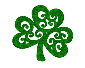 Happy St. Patrick's Day! The Shamrock. Free Download 2021 greeting card