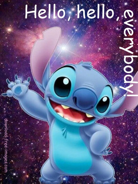 Hello, hello, everybody! Cartoon ecards 2018. New ecards for free. Lilo And Stitch - Cartoon Pictures. Free Download 2019 greeting card