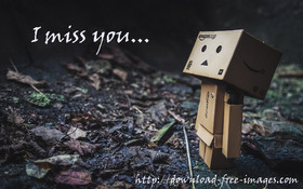 I miss You... WALL-E. Free Download 2021 greeting card