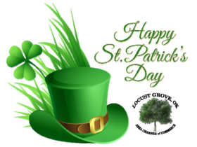 St. Patrick's day! Hat and Shamrock. PNG. Green hat. Shamrock. Free Download 2021 greeting card