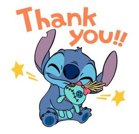 Thank You! Cartoon ecards 2018. New ecards. Free download. Lilo And Stitch - Cartoon Pictures. Free Download 2019 greeting card
