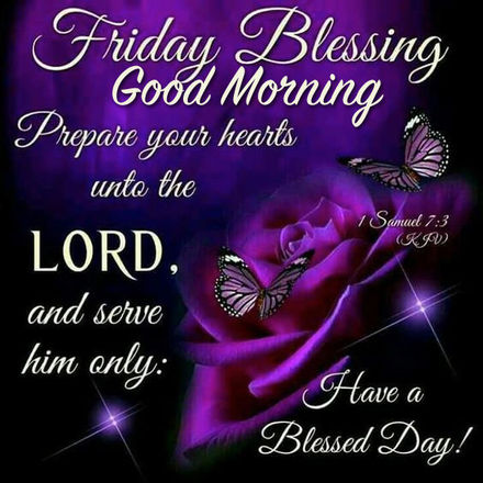 Friday Blessing, Good Morning! Ecards 2018. Bible quotes ...
