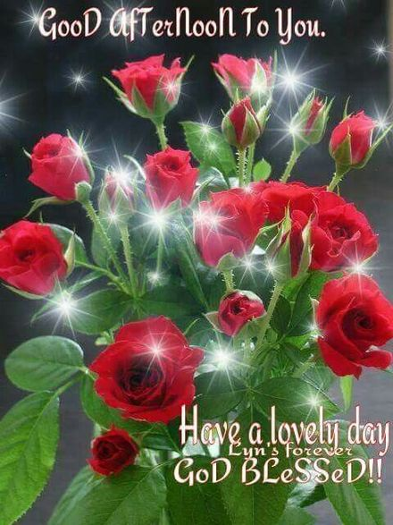 Good Afternoon to You! God blessed! The best greeting card