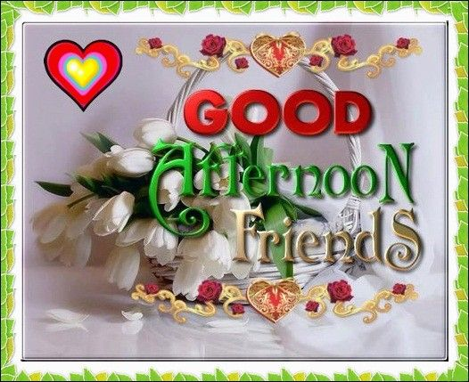 good afternoon greeting cards
