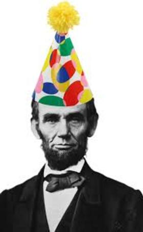 Abraham Lincoln. Ecard for grandfather. Birthday of the great man - Abraham Lincoln. Free Download 2019 greeting card