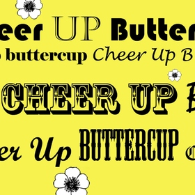 Cheer Up... Greeting Card for mom! Cheer Up.... Buttercup... Flowers... Smile more... Ecard for mom ;) Free Download 2019 greeting card