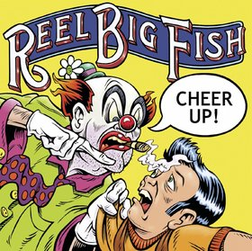 Cheer Up... Card for friends! Cheer Up.... Reel... Big... Fish... clown... Ecard for friends... Free Download 2019 greeting card