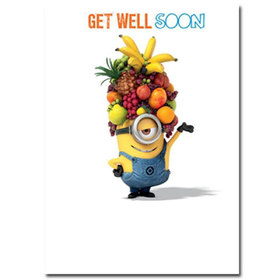 Minion wishes to get well. New ecard. Minion. Get well soon. I hope you will feel better. No sickness can keep you down with all the prayers I offer for your recovery. Rise up and be strong! Free Download 2021 greeting card