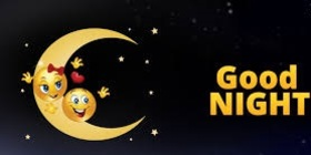 Good Night to little brother. Funny postcard for younger brother. Card with emoticons on the moon. Let you dream now That all your dreams come true. Sweet dreams, my little bro. Free Download 2019 greeting card