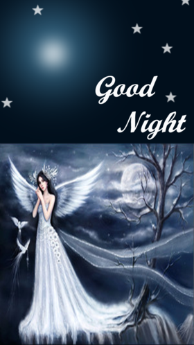 Wishing a good night for sister. Creative postcard with beautiful angel to dear sister.Good night, wonderful dreams, My love keeps you! Free Download 2021 greeting card