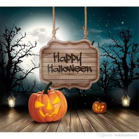 Happy Halloween title. Ecard. Happy New Halloween 2018. Free Download 2021 greeting card