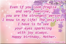 Happy Birthday Mom from Son! Birthday Wishes for Mom! New ecard! I love my Mom! My Mother. My Mommy. Free Download 2021 greeting card