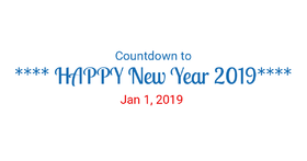 Countdown to Happy New Year! Magic ecard 2019. Happy New Year 2019. Countdown. January 1. 2019. White background. Free Download 2021 greeting card