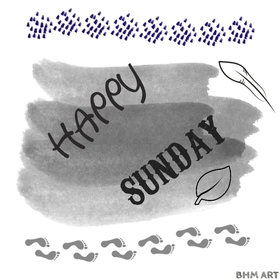 Grey but Happy Sunday. New ecard. Grey Sunday. Wish this weather will not let your Sunday to be bad. Have a happy Sunday. Wishes for Sunday. Free Download 2019 greeting card