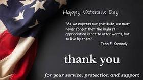 Happy Veterans Day, Dear grandfather!!! New ecard. As we express our gratitude, we must never forget that the highest appreciation is not to utter words, but to live by them. Free Download 2021 greeting card