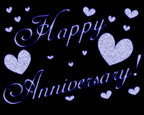 Happy Wedding anniversary gif ecard. May your family life be filled with health, luck, success, prosperity, kind people and funny friends. Free Download 2021 greeting card