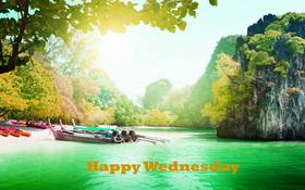 Have a good Wednesday, grandmother! New ecard. A postcard with beautiful scenery for you on this beautiful morning. The middle of the week is not a problem. I will always be with you. Free Download 2021 greeting card