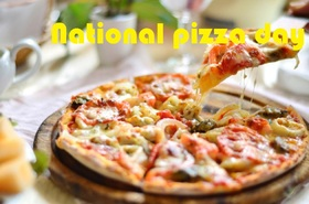 National day of pizza card for father. Download a card free of charge for the father. Dear dad, on holiday. Delicious and hot pizza. Paradise pleasure. Free Download 2019 greeting card