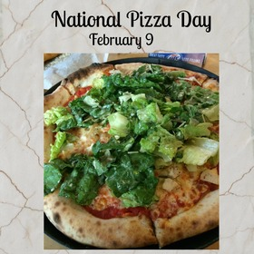 National pizza day card to my best friend. National Pizza Day! Congratulations! Postcard for friends. Pizza. Happiness. I like pizza. New Ecard. Free Download 2019 greeting card