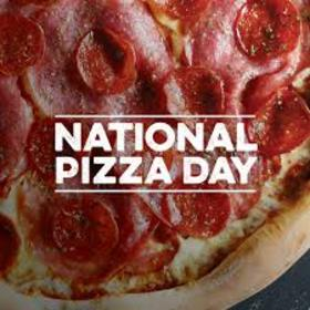 National pizza day postcard for dear sister. Download a card free of charge. National Pizza Day. It's getting better with pizza. My best friend is pizza. Joke. Love. Food. Free Download 2021 greeting card