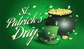 Patrick's Day!!! Cards for grandparents... Gold... Pot of gold... Hat... Have a good weekend! Free Download 2019 greeting card