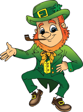Patrick's Day!!! Cards for him... Leprechaun, the hero of Irish folklore, has become one of the symbols of St. Patrick's Day relatively recently. Free Download 2018 greeting card