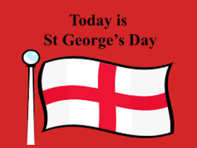 St. George's day ecard. Congratulations to my friends. On St. George's Day I want to wish you that he could you in life protect and save. Free Download 2019 greeting card