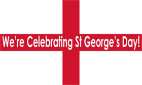 St. George's day congratulations. let faith help you to live peacefully and easily. Free Download 2019 greeting card