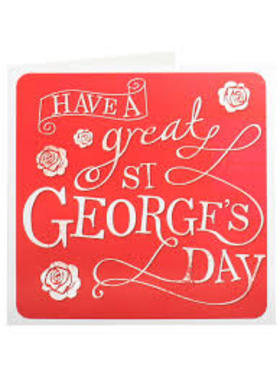 Saint George's day ecard for free. I congratulate you on St. George's Day and sincerely wish you incredible endurance and will power. Free Download 2019 greeting card