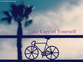 Take Care Of Yourself Whenever You Go! New ecard. Take Care of Yourself Whenever you go! Bike. Tree. Free Download 2019 greeting card
