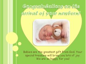 Congratulations on the arrival of your newborn! Congratulations for a new born baby. Sleeping baby. Baby cards. babies are the greatest gift from God. We are so happy for you. Free Download 2018 greeting card