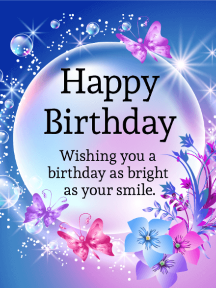 Happy Birthday Greeting Card Wishes Nice For You The Best