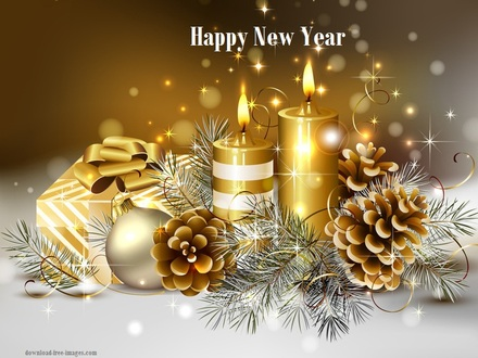 Happy new year 2019 greeting cards free download color - New year 2019 color ...