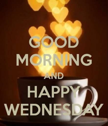Happy Wednesday And Good Morning The Best Greeting Card For You