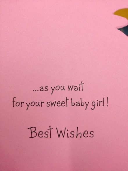 Best Wishes For A Baby Girl Ecard The Best Greeting Card