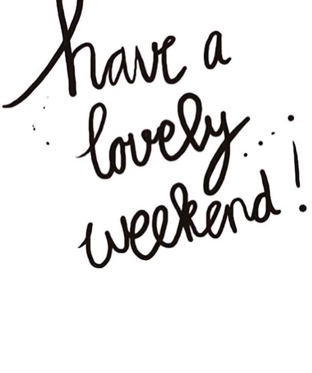 have a lovely weekend black white ecard the best greeting card for you