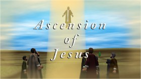 Ascension day... Greeting card for grandmother... Ascension day... Ascension of Jesus... Free Download 2018 greeting card