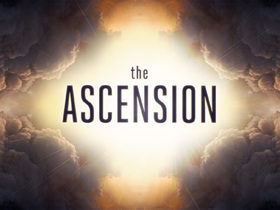 Ascension day... Greeting card for him... The name of the holiday reflects the essence of the event - the Ascension of the Lord Jesus Christ to Heaven, the completion of His earthly ministry. Free Download 2020 greeting card