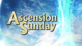 Ascension day... Card for grandmother... Ascension day... He came down to earth because of his love for us. And, having completed His great earthly ministry, He returns to His Father again, where He stayed before. Free Download 2018 greeting card