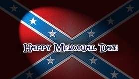 Confederate memorial day... Ecard for you... Beautifully the light falls... Beautiful inscription... Unusual gradient... Free Download 2019 greeting card