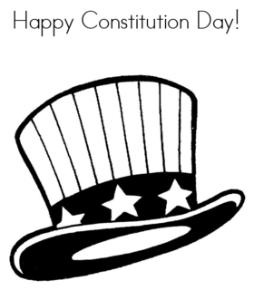 Constitution day 2018... Card for mom... The date of the holiday was chosen in honor of the adoption of the US Constitution at the Constitutional Convention in Philadelphia on September 17, 1787. Free Download 2020 greeting card