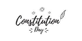 Constitution day 2018... Greeting card for them... And on September 17 there are parades, solemn processions, mass events with the participation of actors and musicians. Free Download 2021 greeting card