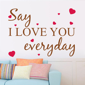 Everyday... Love you everyday... New ecard. Say I love you Everyday.... Have a good day... Free Download 2021 greeting card