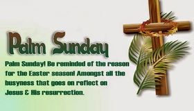 Happy palm sunday 2019... Ecard for dad... Palm sunday... Be reminded of the reason for the Easter season! Amongst all the busyness that goes on reflect on Jesus.... Free Download 2021 greeting card