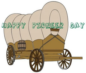 Happy Pioneer Day 2018! New ecard for free. Happy Pioneer Day! Free Download 2019 greeting card