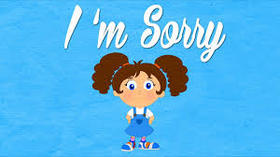 I want to say you Sorry! Girl ecard. Please, forgive me, my dear! Free Download 2019 greeting card
