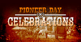 Pioneer day celebration 2018  Have a good day!!! Evolve... Free Download 2019 greeting card